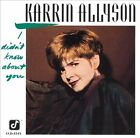 I Didn't Know About You by Karrin Allyson (CD, Jul-2004, Concord Jazz)