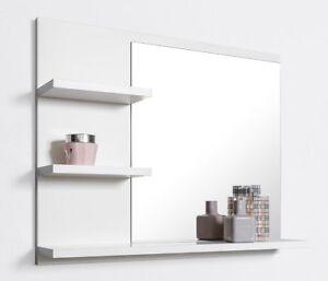 Bathroom Mirror With Shelves Vanity