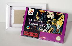 Boîte SNES – Vampire Kiss [EUR]