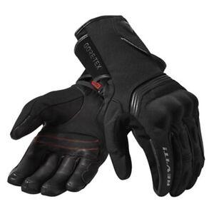 Guanti-moto-Rev-039-it-Fusion-2-goretex-nero-L-black-gloves-invernali