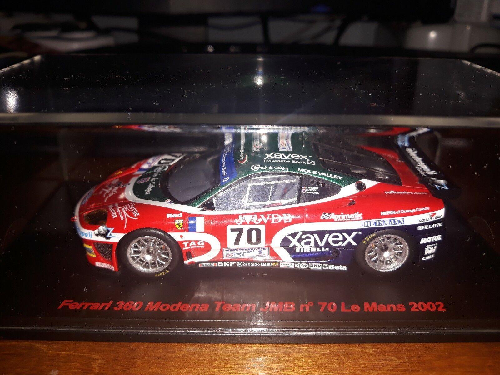 rouge Line 1 43 Ferrari 360 Modena  70 Le Mans 2002 RL001