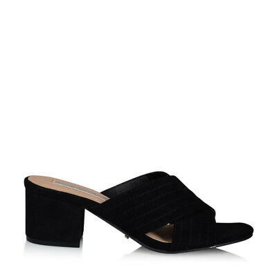 Billini womens shoes TULSA Black Suede