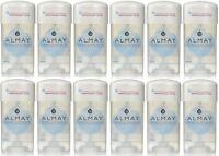 12 Pack Almay Anti-perspirant - Deodorant Fragrance Free Clear Gel 2.25 Oz on sale