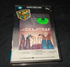 DEATHTRAP-VHS-PAL-WARNER-SIDNEY-LUMET
