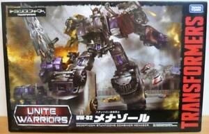 Takara Tomy Transformers Unite Warriors UW02 Menasor Menazoru Figure Japan F//S