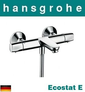 Image Is Loading Hansgrohe Ecostat E 13145000 W M Thermostatic Bath And