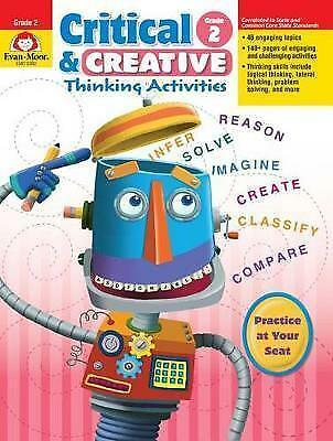 Critical and Creative Thinking Activities, Grade 2 (Critical & Creative Thinking