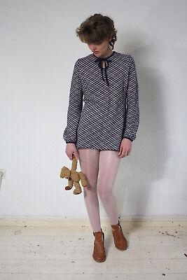 Veb Wirkmode Apolda Pullover Altamente Bausch 60er True Vintage 60s Sweater Jumper-mostra Il Titolo Originale