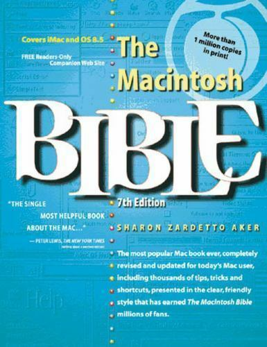 Bible The Macintosh Bible By Sharon Zardetto Aker 1998 Paperback For Sale Online Ebay