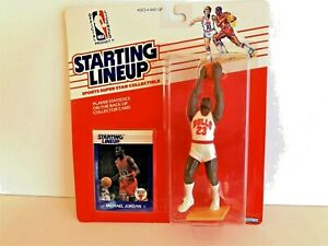1988 Starting Lineup Michael Jordan Rookie Figure And Card Factory Sealed NEW