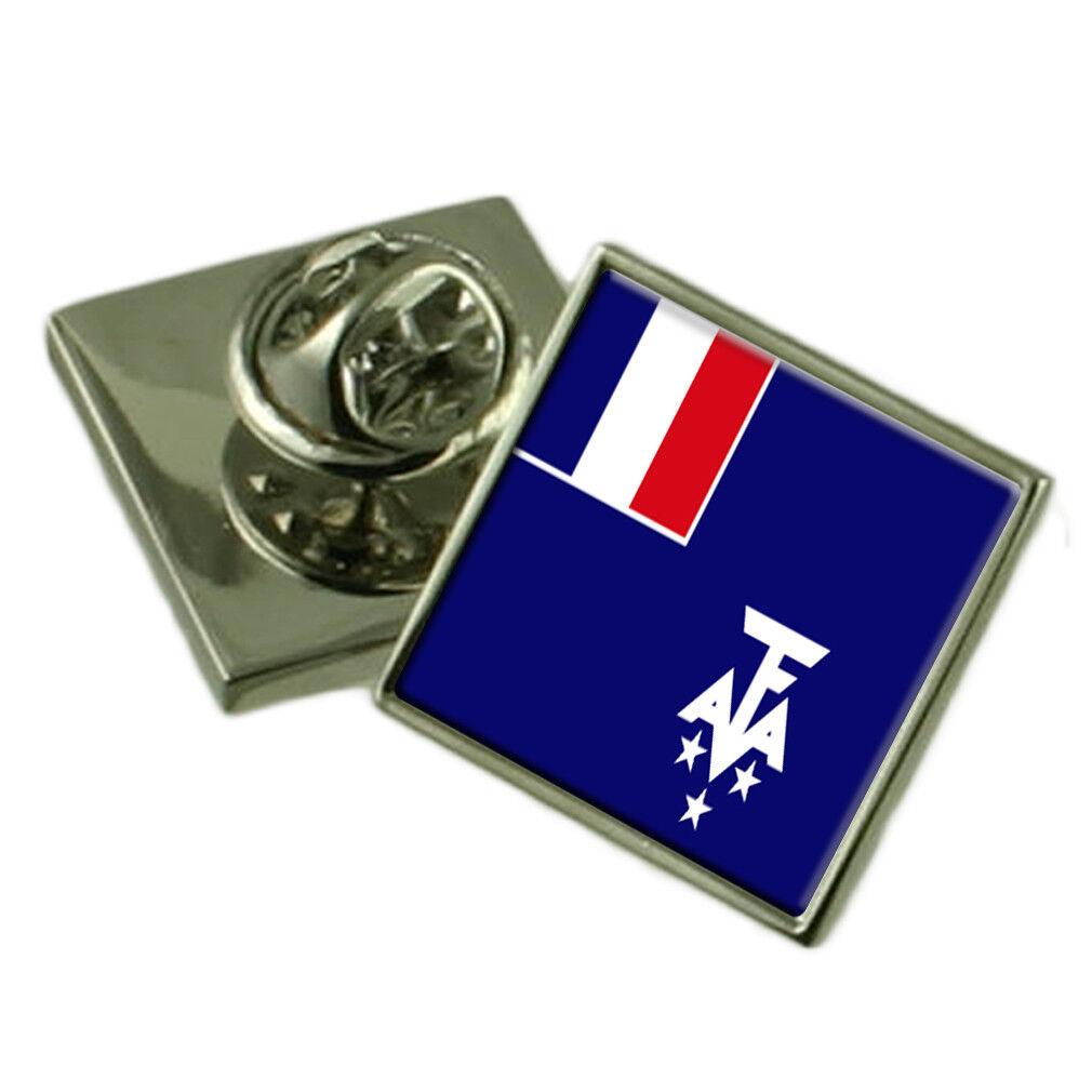 Francese Southern & Antartico Lands Spilla per Bavero Inciso Personalizzato Personalizzato Personalizzato Box 5ae64a
