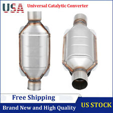 Universal Fit 25 Inletoutlet Catalytic Converter Epa Approved Stainless Steel