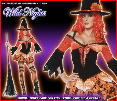 HALLOWEEN FANCY DRESS # TAINTED WICKED WITCH MED 12-14