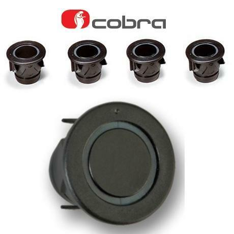 Cobra F0194S 4 Way Car Front Parking Sensor Kit 25mm black A0156