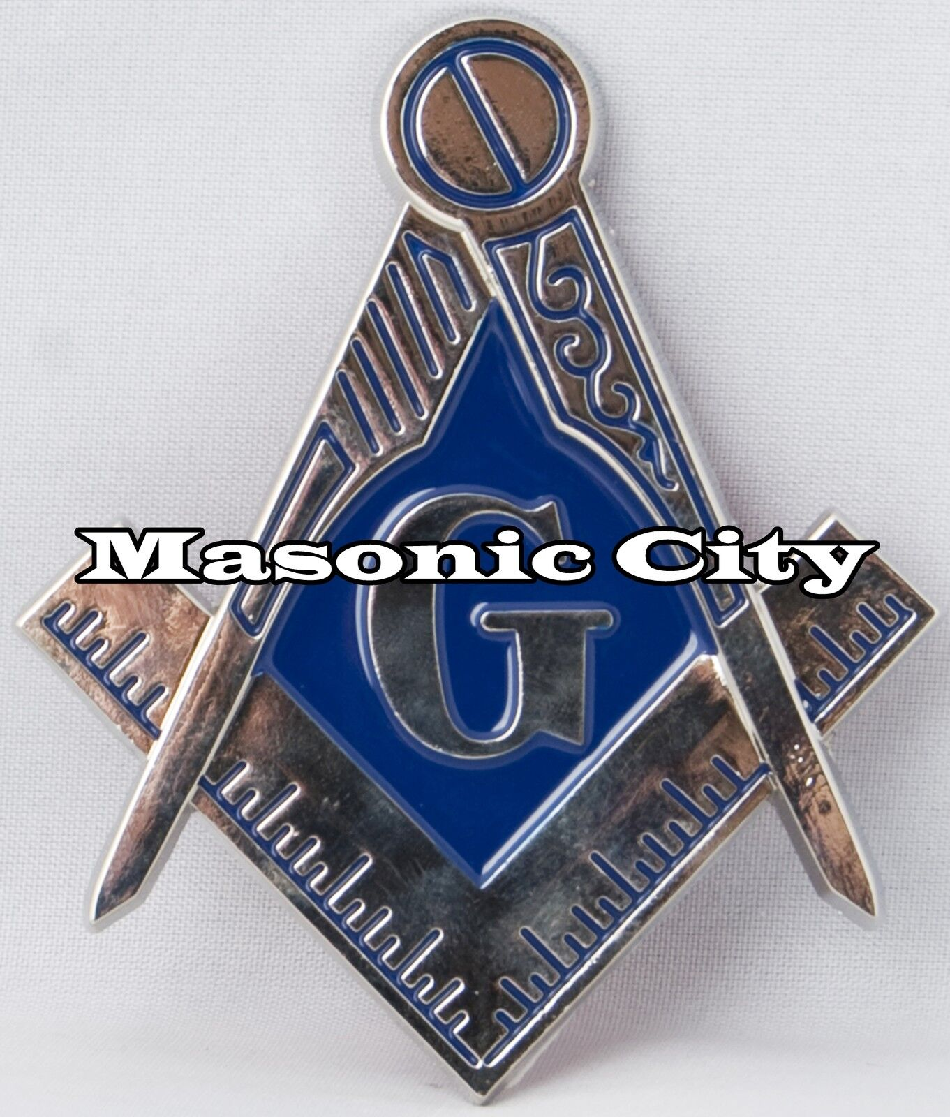Z-38 Masonic Auto Emblem Freemasonry Car Lodge Mason Black & Accepted for  sale online | eBay