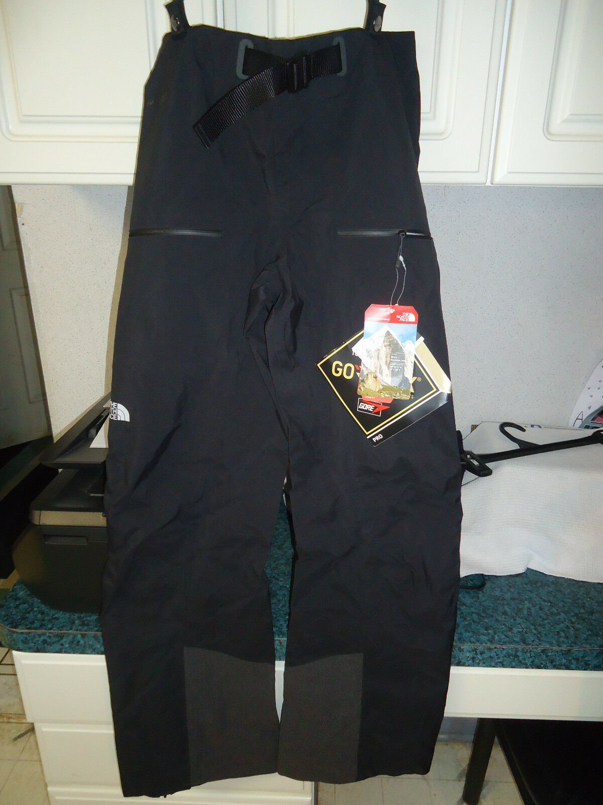 THE NORTH FACE DIHEDRAL GORE-TEX BIB SHELL PANTS WOMEN'S SIZE 8 REGULAR -
