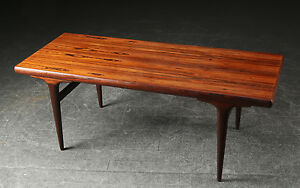 Vintage Danish Retro Rosewood Coffee Table 1960 70 Ebay
