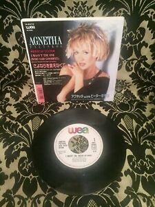 ABBA-Agnetha-Faeltskog-japan-Single-I-wasn-t-the-one-rare-selten