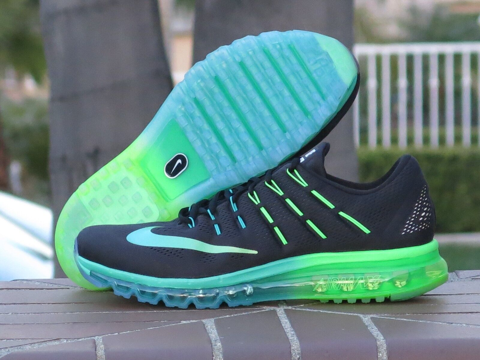 Men's Nike Air Max 2016 Running, Cross Training Sneakers 806771-003 SZ 13
