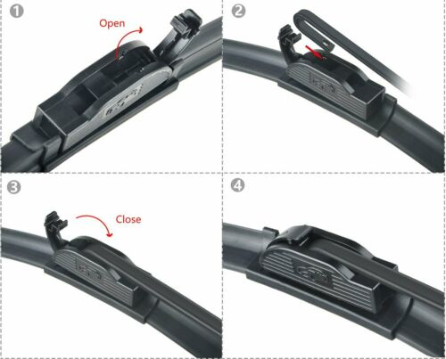 "ABLEWIPE 26/""/&14/"" Fit For Nissan Rogue Select 2015-2014 Windshield Wiper Blades"