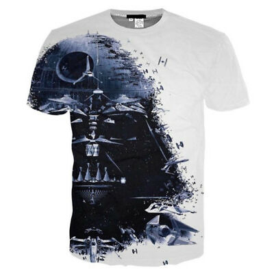 HOT SALES! Star Wars Darth Vader 3D Printed Women/Men's Fashion T-Shirts