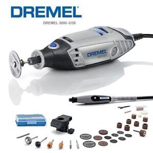 dremel 3000 2 30 variable speed rotary tool with 2 attachments 30