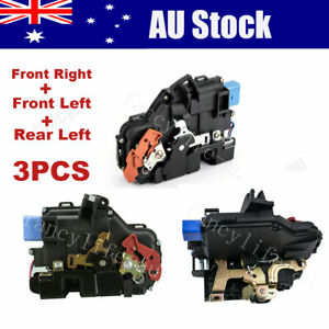 3*Front Right & Left + Rear Left Door Lock Actuator Fit VW Golf MK5 Beetle Jetta