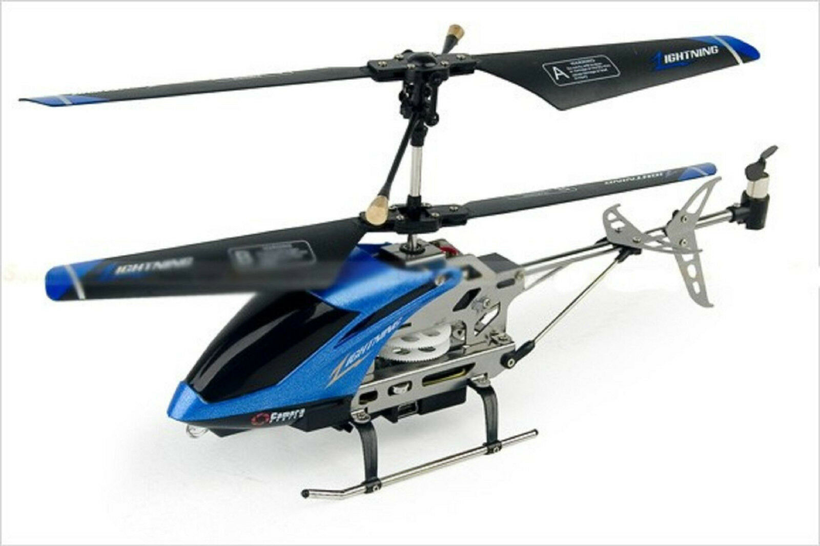 bluee Spy Helicopter C7 3.5 Channel Infrared Control Gyro Camera 130 MP Heli UK