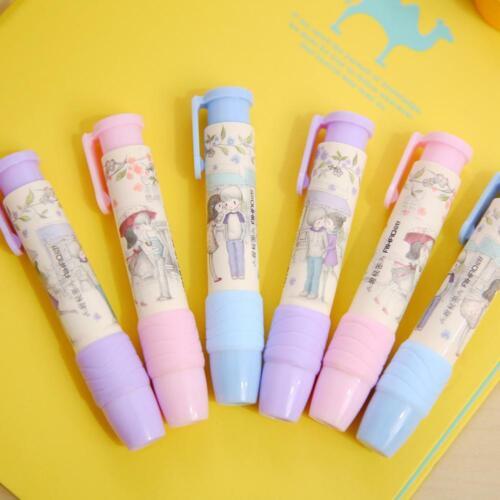 2St Gummi Bleistift Radiergummi Briefpapier Schule Bürobedarf Kind Geschenk