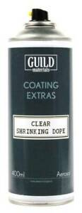 Guild-Modellers-Clear-Shrinking-Dope-400ml-Spray-Can-UK-Mainland-Courier-Post