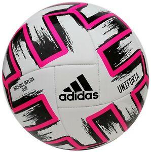 Adidas Uniforia Club EURO 2020 EM 2020 Trainingsball Fußball Unifo Magenda