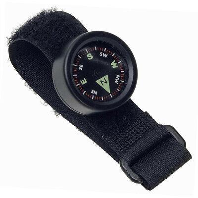 Haller kleiner Handgelenkkompass mit Klettverschuß Minikompass Armkompass