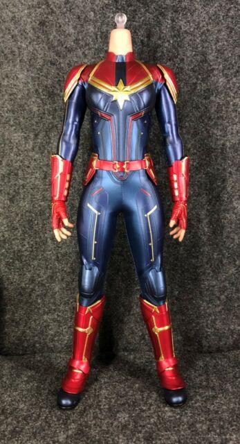 Hot Toys MMS522 Captain Marvel - Body & Outfit Bodysuit - Carol Danvers - MMS521