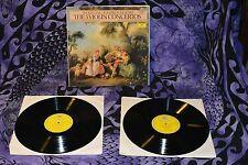 NM Wolfgang Amadeus MOZART 5 VIOLIN CONCERTOS 2 LP SET Deutshe 413 203-1 STEREO