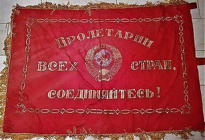 UdSSR RUSSISCHER auto truppen Flagge Fahne Banner Wimpel Flag Вымпел Авто Войска
