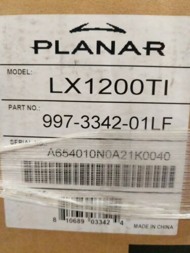New Old Stock PLANAR LX1200TI NO.997-3342-01LF OPERATOR PANEL