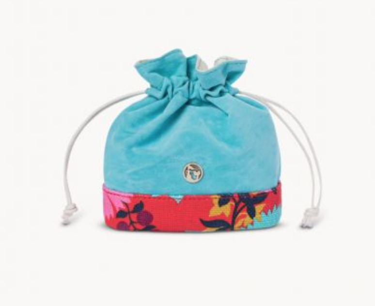 Spartina 449 Little Bermuda Keepsake Pouch Drawstring Bag - NWT