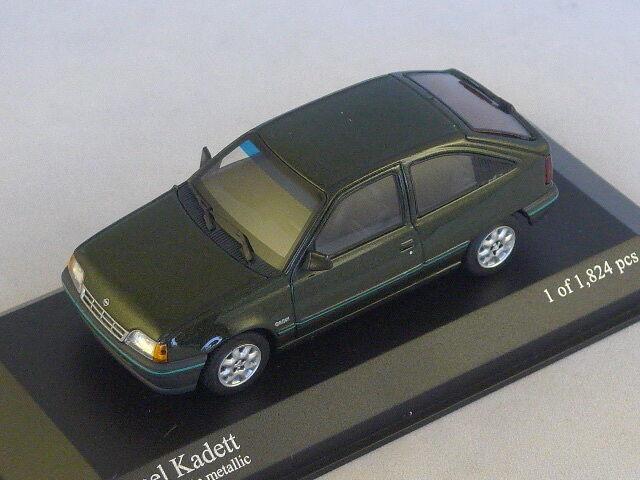 MINICHAMPS 400045900 - Opel Kadett 1989 vert métal 1 1 1 43 933c82