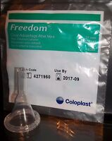 50 Condom Catheters 31mm Freedom Clear Advantage Ref 6300/30 Adhesive Coloplast