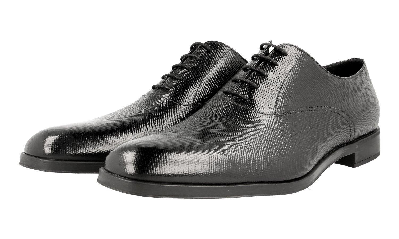 Casual salvaje Lujo prada Business zapatos 2ec090 negro nuevo New 9 43 43,5