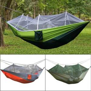 Double-Person-Travel-Outdoor-Camping-Tent-Hanging-Hammock-Bed-W-Mosquito-Net