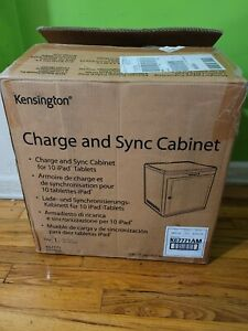Kensington M01207 Universal USB Charge & Sync Cabinet  for 10 iPad, tablets new