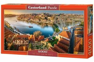 "Castorland Puzzle 4000 Pieces THE LAST SUN ON PORTO 54""x27"" Sealed box C-400232"