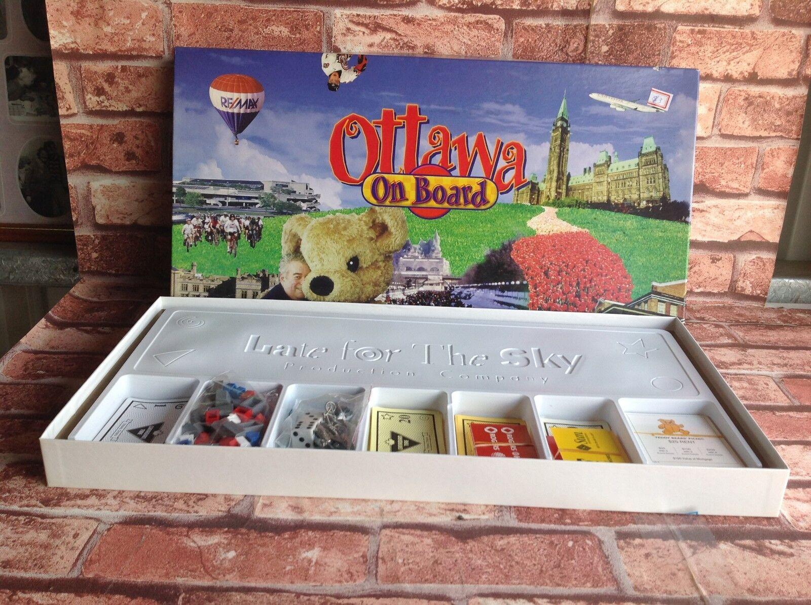 Ottawa Ottawa Ottawa termina el juego canadiense de ajedrez a bordo del barco. fb6