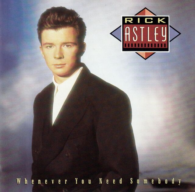 RICK ASTLEY / WHENEVER YOU NEED SOMEBODY / CD (PWL RECORDS ND 75150) - NEUWERTIG