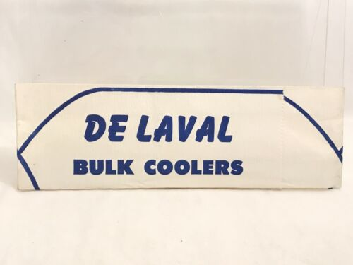 De Laval 1960/'s Employee Paper Hat Vintage Coolers Milkers Dairy Columbus OH
