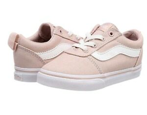Ward bajas Girls 6 lona de Rose beb Zapatillas Sepla Uk Vans de cordones sin 48Bgw