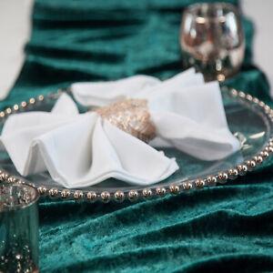 VELVET-TABLE-RUNNERS-35CM-X-275CM-9-COLOURS-EVENTS-WEDDING-DECOR-CHRISTMAS