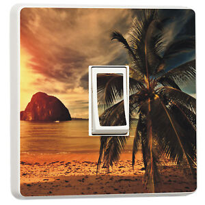Beach at Sunset palm tree tropical island light switch cover11519606 - bridgend, United Kingdom - Returns accepted Most purchases from business sellers are protected by the Consumer Contract Regulations 2013 which give you the right to cancel the purchase within 14 days after the day you receive the item. Find out more about - bridgend, United Kingdom