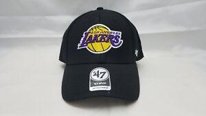 47 Mvp Adjustable Hat Nba Los Angeles Lakers Black Ebay